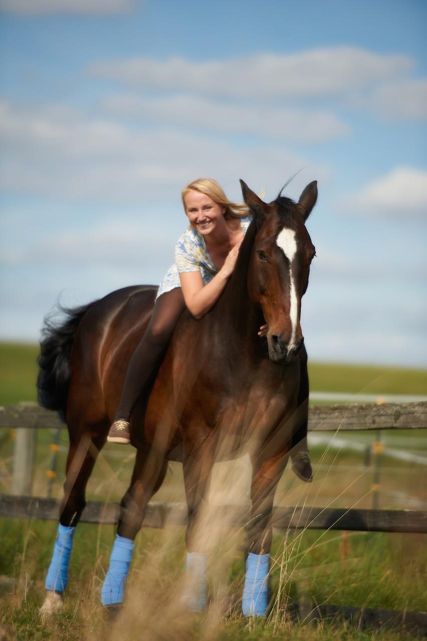 Portraits mit Pferd