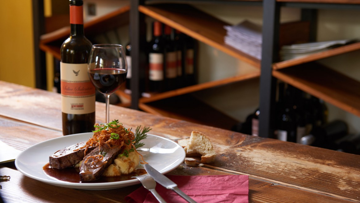Food, Fotos, Fotografie, Foodfotografie,Leber, Wein